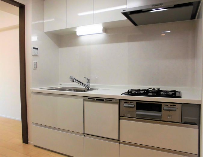システムキッチン(食洗機・浄水器付)新規交換(キッチン)
