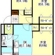 3LDK 専有面積5648㎡ 価格1690万円(間取)